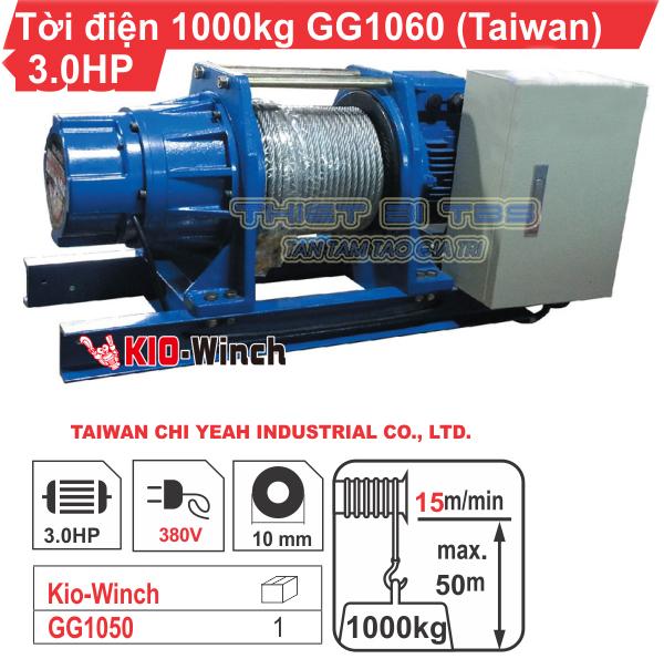 TỜI KIO WICH TAIWAN 23M/P - 1000KG - GG1060